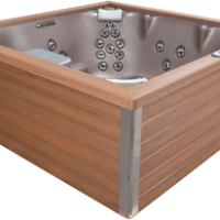 designer hot tub