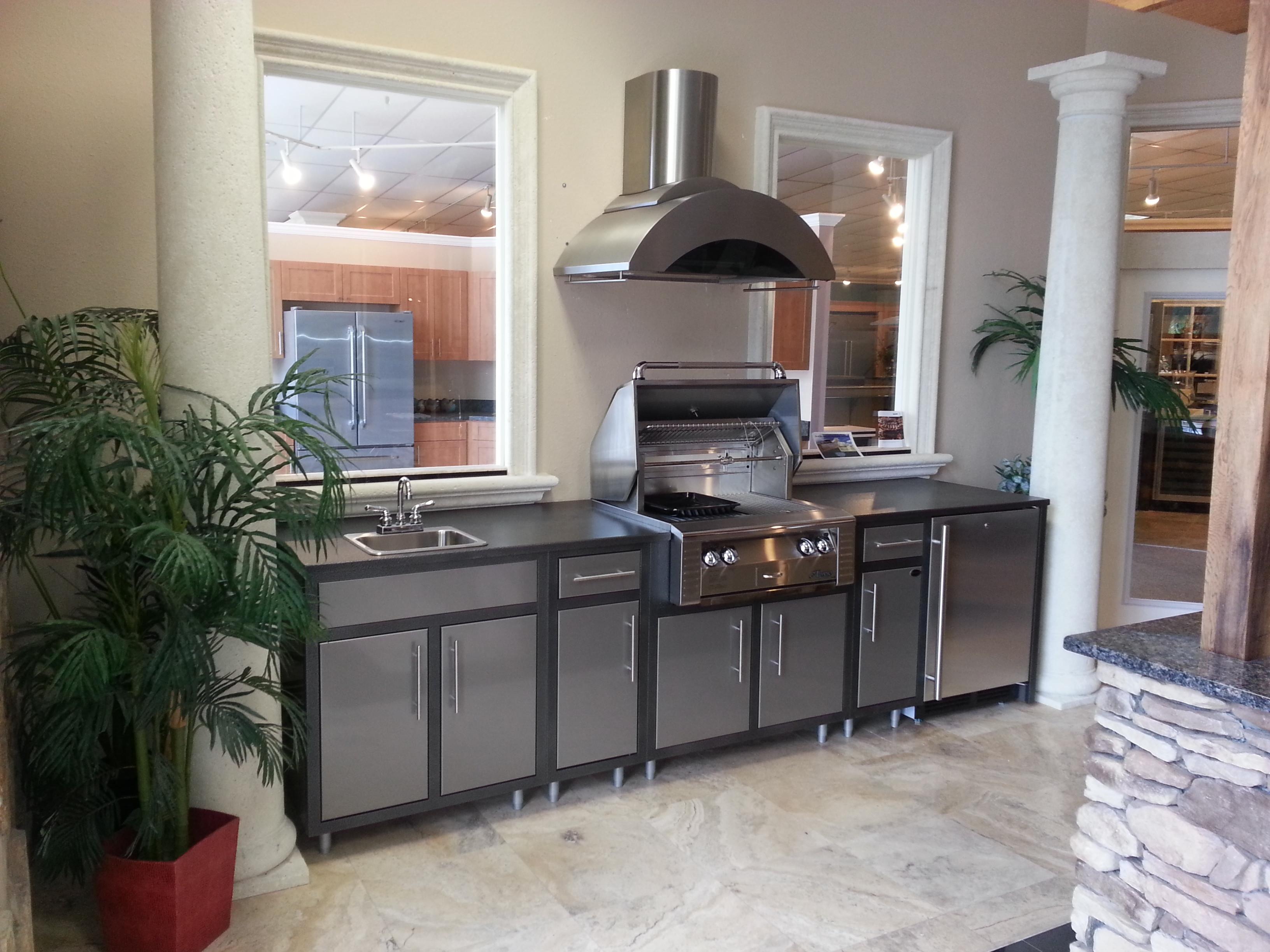 challenger designs modular outdoor kitchen - ajax pool & spa inc.